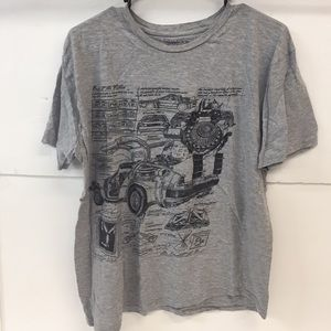 Back to the Future Shirt Size 2XL Boy's